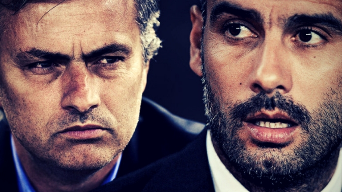 Who's had the better first season: Guardiola or Mourinho?